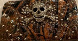 Handbags - Nwt skull billfold